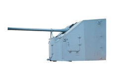 Pistola navale. La seconda guerra mondiale Immagini Stock Libere da Diritti