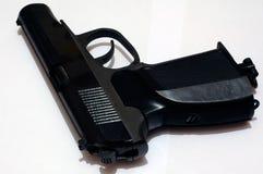 Pistola nera Fotografia Stock