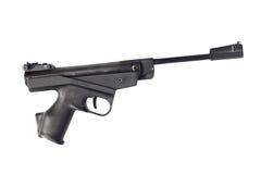Pistola nera dell'aria Fotografia Stock