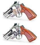 Pistola in pieno vuota Fotografia Stock Libera da Diritti