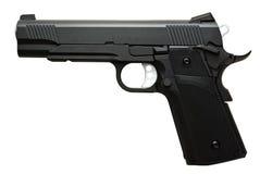 Pistola preta Fotos de Stock Royalty Free