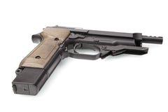 Pistola semiautomática Imagens de Stock Royalty Free