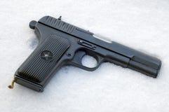 Pistola sovietica 1942 TT33 Fotografie Stock
