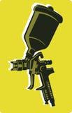 Pistola a spruzzo Immagine Stock Libera da Diritti