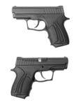 Pistola traumatica di Fort-10r Fotografia Stock