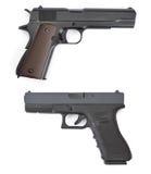 Pistolas comunes Fotos de archivo