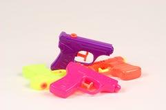 Pistolas de agua Foto de archivo libre de regalías