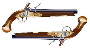 Pistolas en duelo Foto de archivo