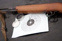 Pistolas pneumáticas fotografia de stock
