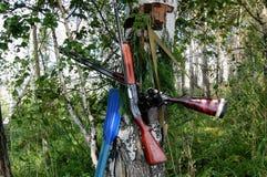 Pistole fotografie stock libere da diritti