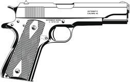 Pistole 1 Stockbilder