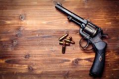 Pistole d'annata Fotografie Stock Libere da Diritti
