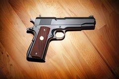 .45 pistole semiautomatica di calibro Fotografia Stock Libera da Diritti
