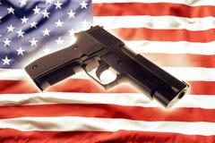 Reglementierung von Waffenbesitz Stockbild