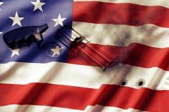 Reglementierung von Waffenbesitz Stockbilder