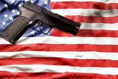 Reglementierung von Waffenbesitz Stockfoto