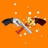 Pistole. Vettore. Fotografia Stock