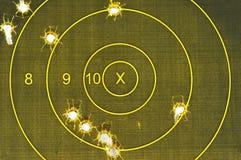 Pistole-Ziel - weg vom Ziel Lizenzfreies Stockfoto