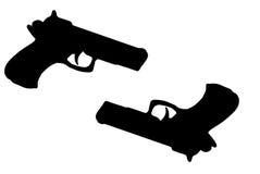Pistolen Stock Foto's