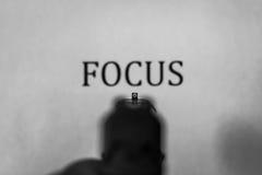 Pistolen-Anblick - FOKUS Stockfotos