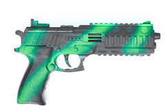 Pistolenwaffenspielzeug Stockbilder