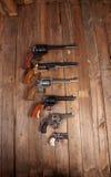 pistoler Arkivbild