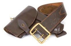 Pistolera Imagen de archivo libre de regalías