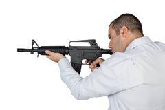 Pistolero Fotos de archivo