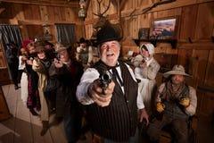 pistoletów target150_0_ zdjęcie royalty free