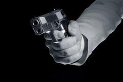 Pistolet à disposition Photos libres de droits