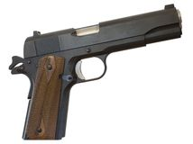 pistolet 1911 Photos stock