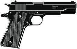 Pistolet 11 illustration stock