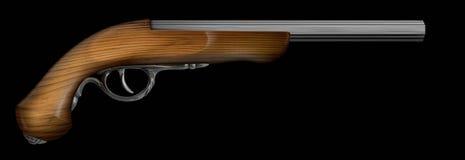 Pistolet antique Images stock