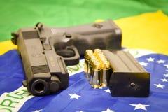 Pistolet brésilien Photos stock