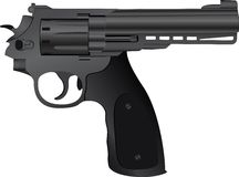 Pistolet correct Images libres de droits