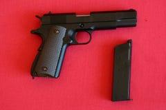 Pistolet d'Airsoft Images libres de droits