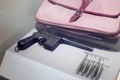 Pistolet de Mauser Images libres de droits