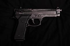 pistolet de 9MM Photos libres de droits