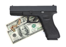 Pistolet Dla dzierżawienia Fotografia Stock