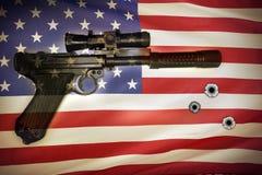 Contrôle des armes Images libres de droits