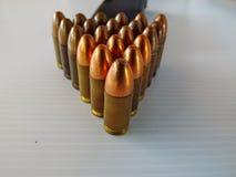 Pistolet i ładownicy zdjęcie royalty free