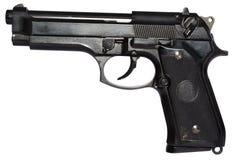 pistolet kaliber 9 mm, obraz stock