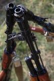 pistolet maszyna Zdjęcia Stock
