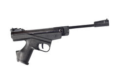 Pistolet noir d'air Photographie stock