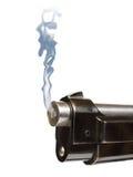 pistolet palenia obrazy stock