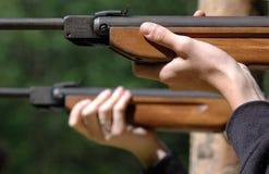 Pistolet pneumatique Image libre de droits