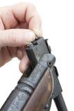 Pistolet pneumatique de charge Photos stock