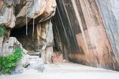 Pistolet: punkt zwrotny na James więzi wyspie, Phang-nga zatoka Obrazy Royalty Free