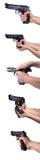 pistolet ręki Zdjęcie Royalty Free