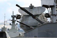 Pistolet stary krążownik Zdjęcie Royalty Free